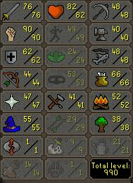 95 Combat Quested With B Gloves, Lunars, Ancients & More - $219.99