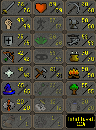 103  Combat main 99 Strength, Full Void, B Gloves, Ancients, Lunars - $299.99
