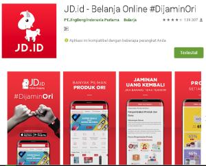 Aplikasi JD ID belanja Online
