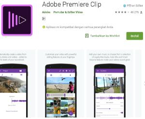 Aplikasi adope primer edit Video