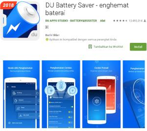 Aplikasi Penghemat Baterai Android Ampuh & Tahan Lama