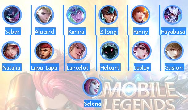 Hero Assassin Lancelot mobile legend terkuat dan Terbaik