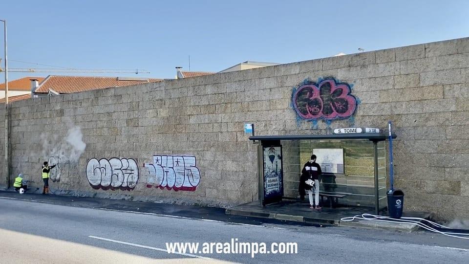 Remoção de graffitis  image