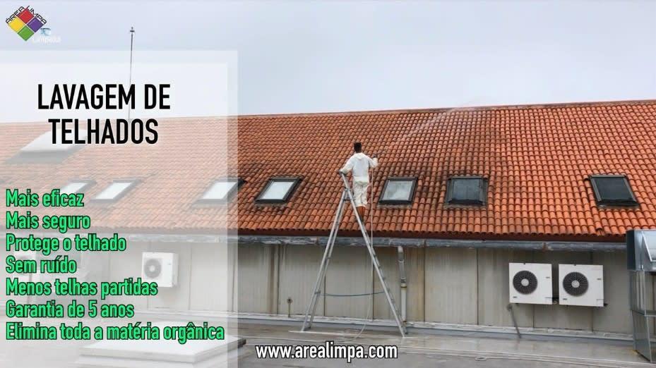Lavagem de telhados image