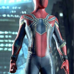 Avengers (2018) Infinity War Spiderman Leather Jacket areena design