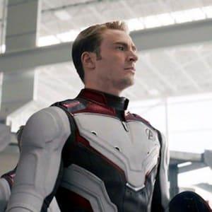 Captain America Avengers Endgame 2019 Quantum Leather Jacket