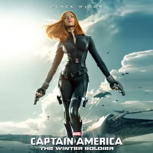 Captain America The Winter Soldier 2014 Natalia Romanov Cosplay Jacket areena design