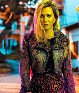 wonder women Kristen wiig 1984 Cheetah Leather Jacket areena design