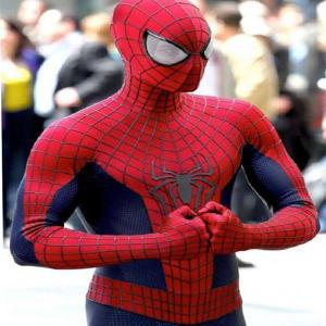 Spider-Man 2 2004 Amazing Movie Peter Parker Leather Jacket Areena Design