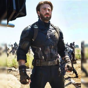 captain America Infinity War 2018 Steve Rogers Leather Jacket