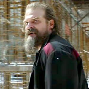 Black Widow 2021 Movie Alexei Shostakov David Harbour Black Jacket Areena design