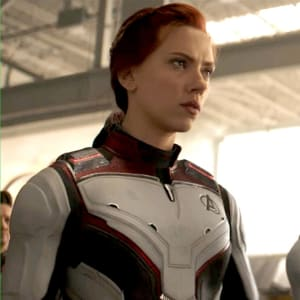 Avengers Endgame 2019 Captain America Natasha Romanov Leather Jacket