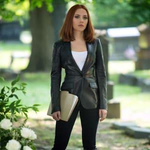 Captain America Black Widow Winter Soldier Natasha Romanoff Blazer areena design