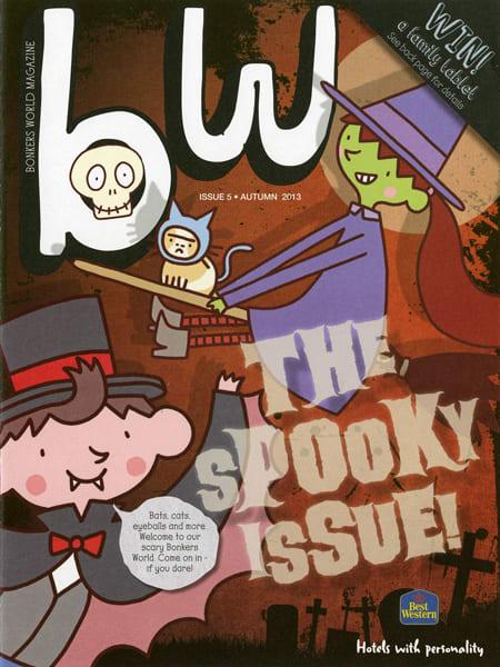 Arena-Illustration-Thomas-Flintham-BW-Halloween-cover