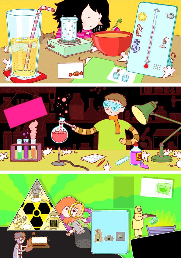 Arena-Illustration-Thomas-Flintham-Molecule-Mayhem