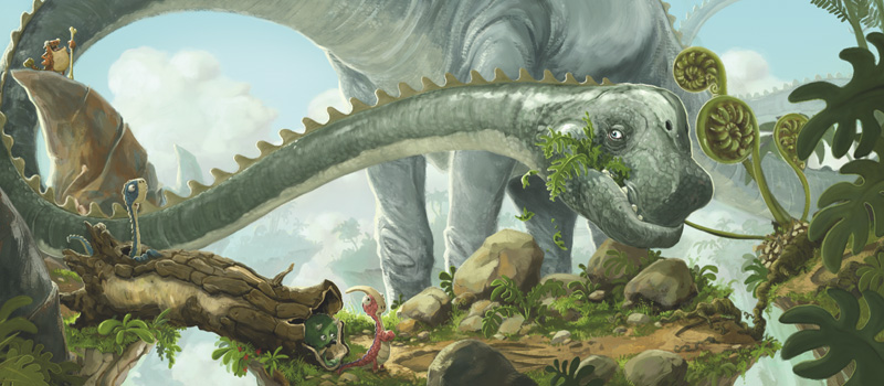 It's old Diplodocus