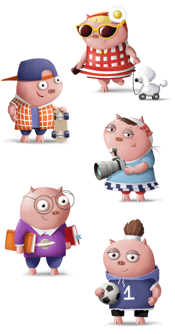 Natwest Pigby and Friends