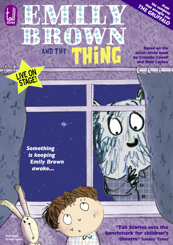 Emily Brwon and the Thing