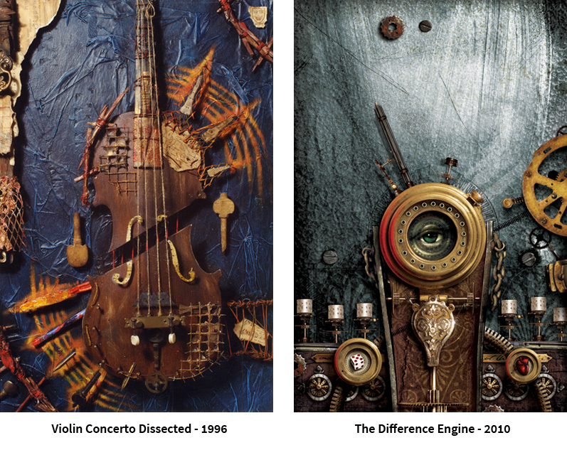 violin and difference engine