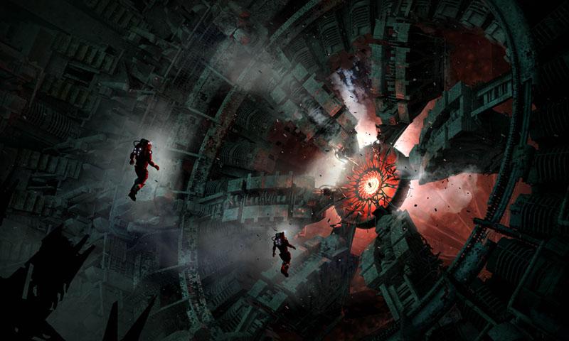 Dark Shepherd - Derelict Alien Ship