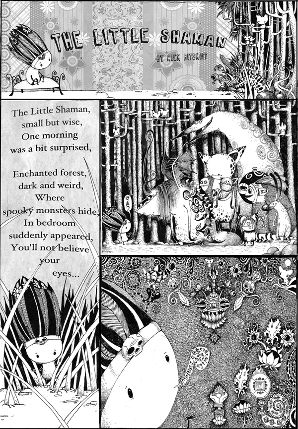 Little Shamen first page