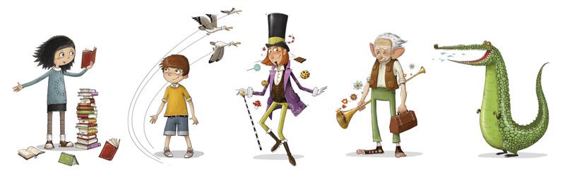 Roald Dahl Character Development