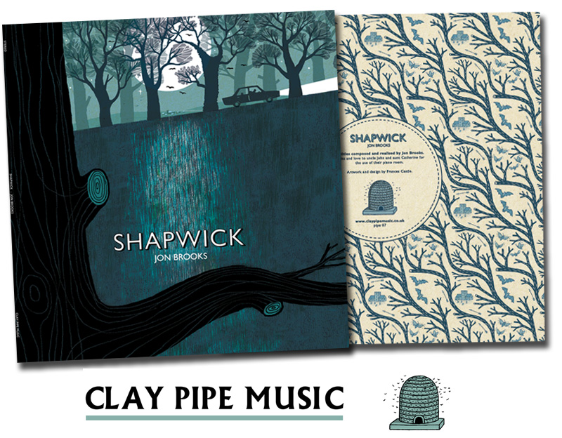 Shapwick by Jon Brooks - Illustrated by Frances Castle for Clay Pipe Music