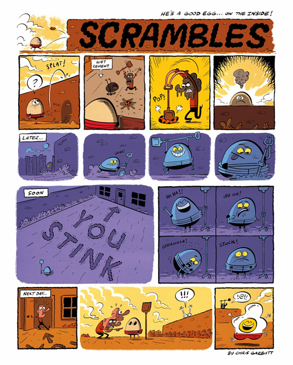Scrambles by Chris Garbutt