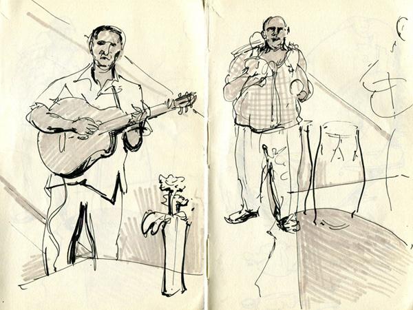 Cuban Music Sketches