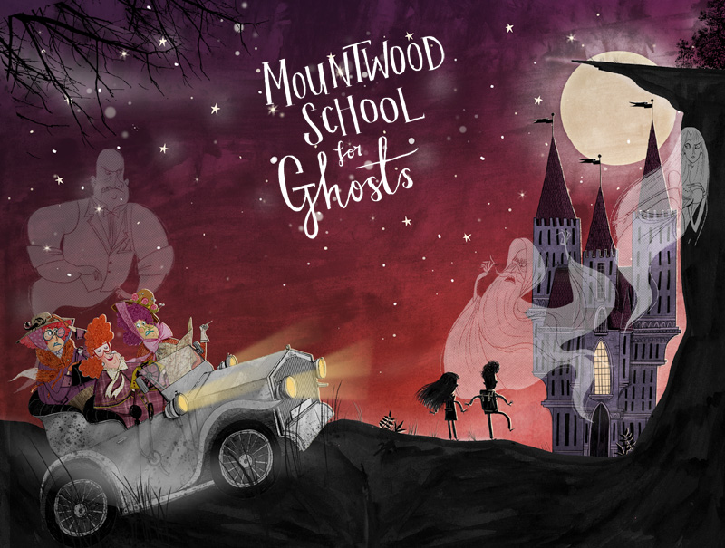 Mountwood School For Ghosts cover artwork