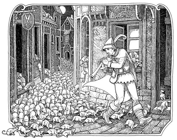 faery tales pied piper