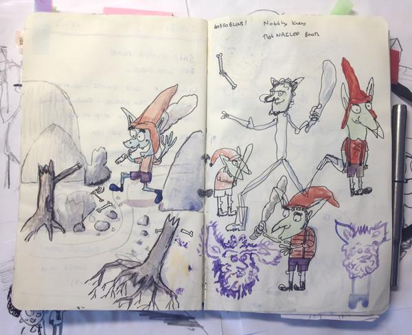 Neal Layton Sketchbook