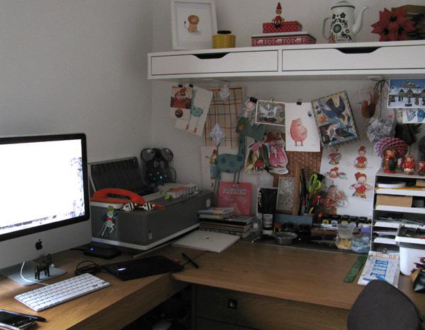 Kristyna's studio