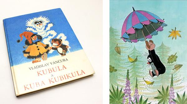 Kubula a Kuba Kaubikula by Vladislav Vancura & Krtek by Zdenek Miler