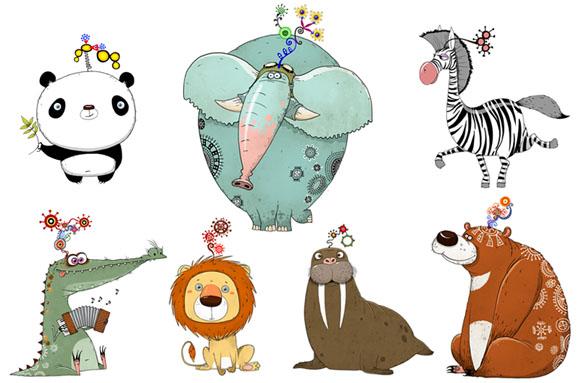Animal Alphabet by Aleksei Bitskoff