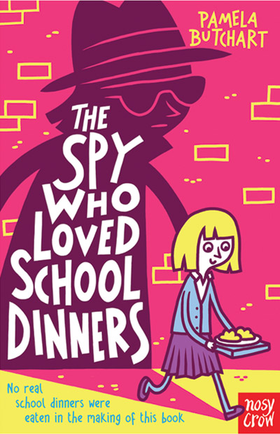 Thomas Flintham illustrations for The Spy Who Loved School Dinners by Pamela Butchart