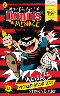 World Menace Day illustrated by Steve May, written by Steven Butler