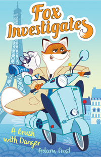 Fox Investigates illustrated by Emily Fox, written by Adam Frost