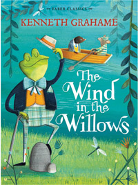 The Window in the Willows by Kenneth Grahame, cover illustration by Kristyna Litten