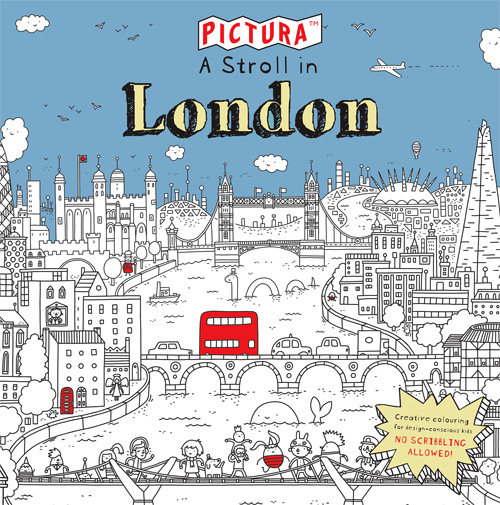 PICTURA: A Stroll in London illustrated by Thomas Flintham