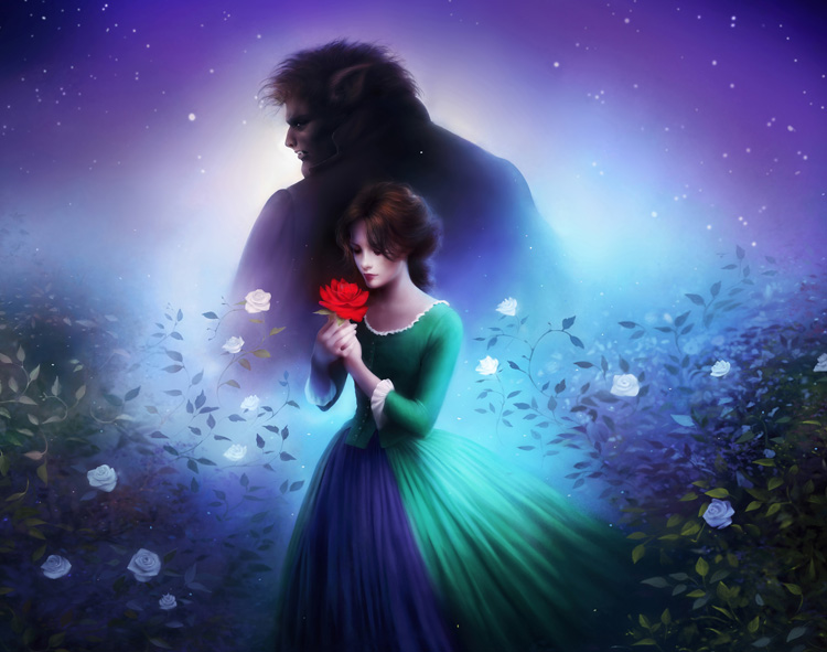 Finaly artwork by Melanie Delon for Beauty and the Beast