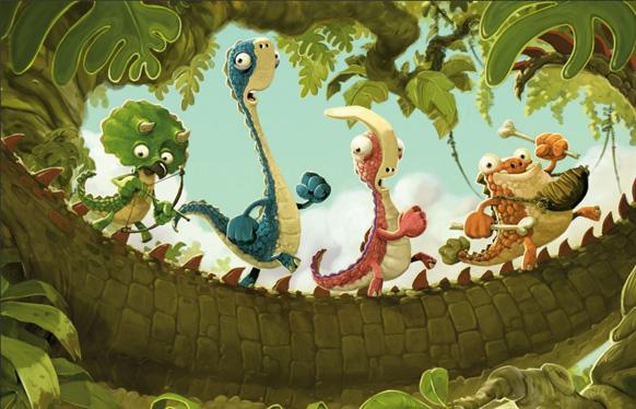 Gigantosaurus - illustration by Jonny Duddle