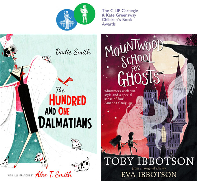 Alex T Smith illustrations for The Hundred and One Dalmmations, and, Mountwood School for Girls