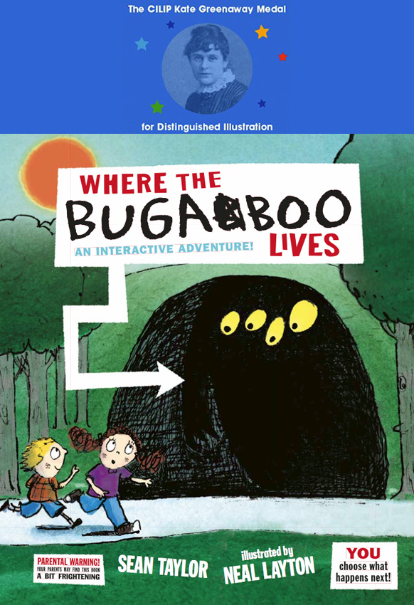 Where The Bugaboo Lives, illustrated by Neal Layton