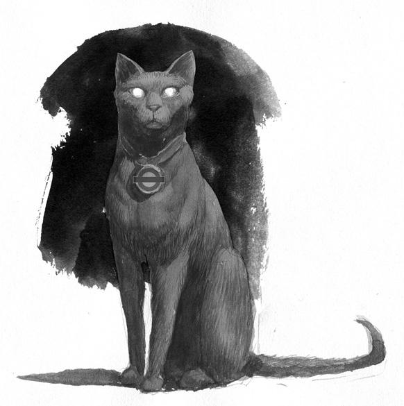 Black Cat by Levi Pinfold