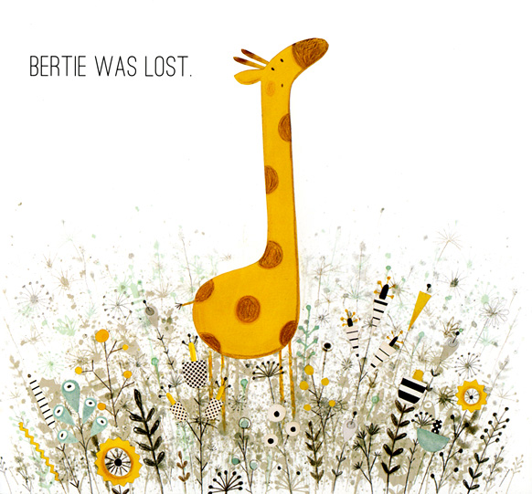 Bertie Lost from Blue and Bertie by Krystina Litten