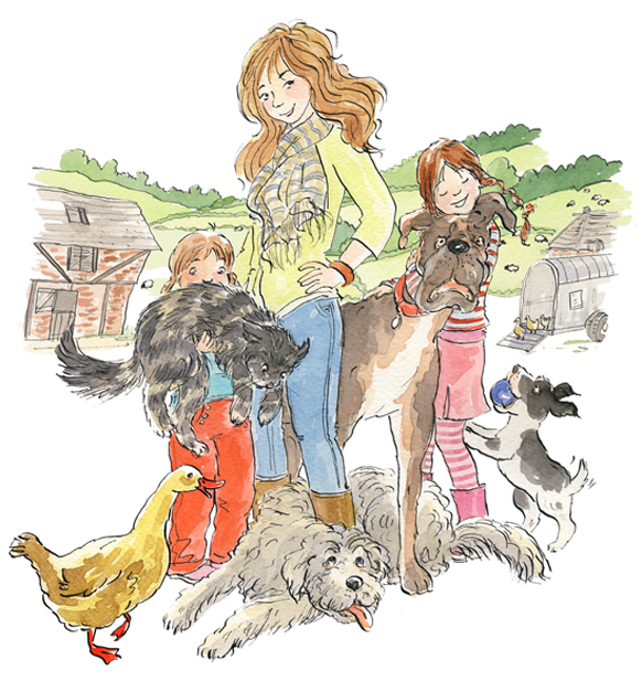 MIndy Hammond Illustrated by Susan Hellard for The Sunday Express Magazine