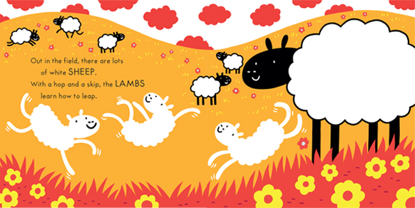 Tom FLintham Animal Babies, Sheep