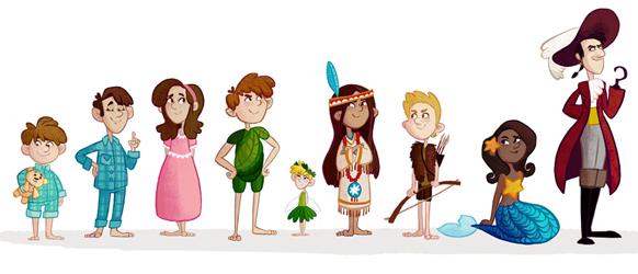 Emily Fox - Peter Pan Characters