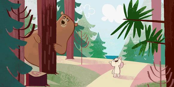 Teddy the Bear by Emily Fox